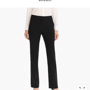 J Crew Pants Classic black trousers Size 6